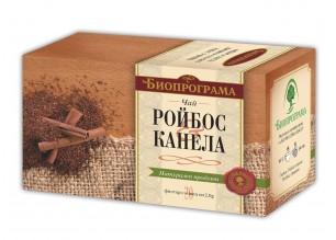 Чай ройбос и канела