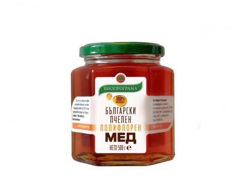 Полифлорен мед 500 гр.